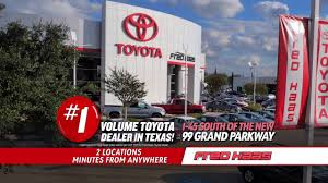 toyota specials fred haas toyota world final clearance car specials youtube