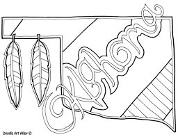 oklahoma state flower coloring page in coloring page eson me