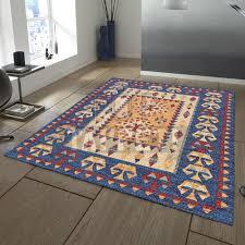 tappeto etnico lounge tappeto classico etnico ciniglia jacquard effetto melange