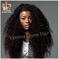 curl in front of hair pic 2015 new brazilian afro curly lace hair synthetic lace front wig