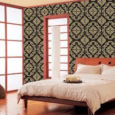 golden black barley pattern self adhesive wallpapers