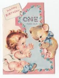 2 years old u0027 vintage birthday card 1960 2 year olds birthday