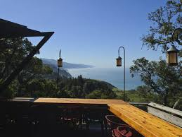nepenthe restaurant big sur best view from a restaurant in