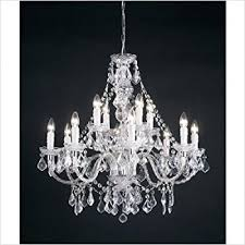 12 Light Chandeliers 12 Light Chandelier Finish Clear Acrylic Co Uk