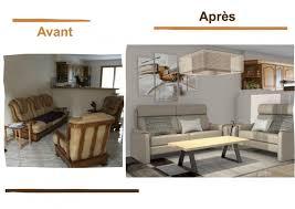 relooker un canapé en cuir avant après projet de décoration et d aménagement d espace