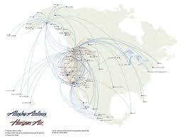 alaska air map alaska airlines route map eston canada mappery