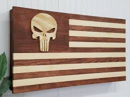 american flag gun cabinet punisher american flag usa concealment furniture compartment cabinet