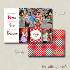 disney themed photo card design by thebloomstudio