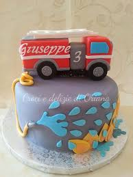 106 best fire truck cake images on pinterest fireman party