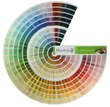 our color charts maestria