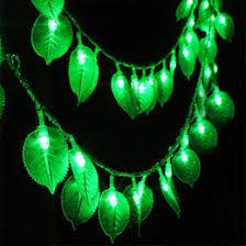discount green leaf string lights 2017 green leaf string lights