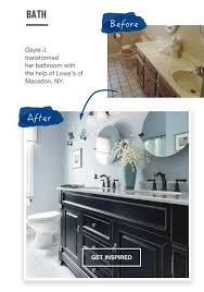 Kitchen  Bathroom Design  Remodel Services Lowes - Bathroom kitchen design