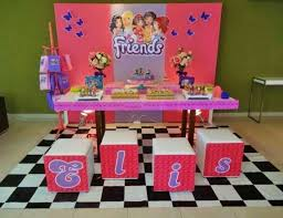 lego friends birthday