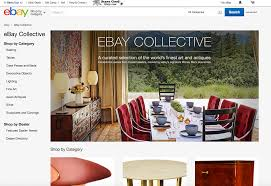 Home Design Software Ebay by Ebay U0027s New High End Furniture Shop Ebay Collective Includes A