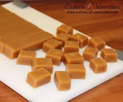 recette de cuisine salé recette caramels au beurre salé le de cuisine et ustensiles
