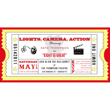 event ticket template custom printed event ticket template event