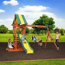 Diy Backyard Swing Set Backyard Discovery Prestige All Cedar Wood Playset Swing Set Diy