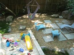 kid friendly backyard without grass home decorating ideas