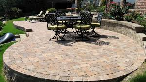 Paver Patios Cost Overwhelming Diy Paver Patio Cost Best Raised Patio Ideas