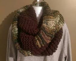 camo infinity scarf etsy