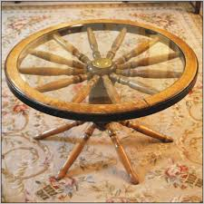 Wagon Wheel Coffee Table Wagon Wheel Coffee Table Vintage Coffee Table Home Decorating