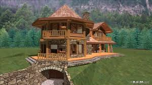 cabin house plans with cost to build youtube