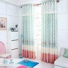 rideau pour chambre enfant princesse fenêtre rideau pour chambre d enfants noir dot