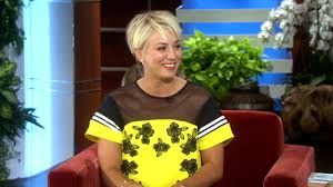 how to get kaley cuoco haircut kaley on her new haircut youtube