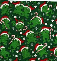 wrapping paper christmas frog wrapping paper