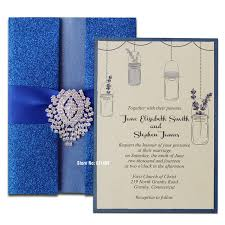 blue wedding invitations royal blue wedding invitation shimmer invitation card blue