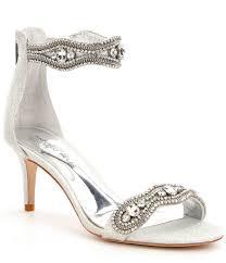antonio melani sadina fabric rhinestone detailed dress sandals in