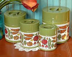 green canisters kitchen vintage kitchen tin canister set nesting tins 4 green vegetables