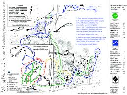 Vt Map Viking Nordic Center Ski Vermont