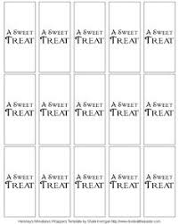 hershey nuggets template for custom labels doing this for my