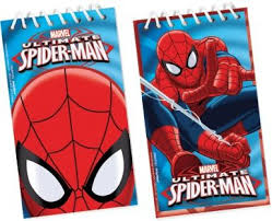 Spiderman Table Meme - deluxe spiderman table meme 12 petits carnets spiderman d礬coration