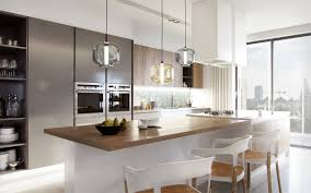 Modern Kitchen Cabinets Los Angeles by Kitchen Modern Kitchen With Gray Kitchen Cabinet And White Island