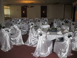 satin chair covers self tie satin chair covers