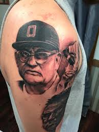 ohio state fan gets urban meyer woody hayes and archie griffin