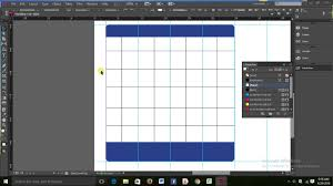 adobe indesign cc making calendar step 1 youtube