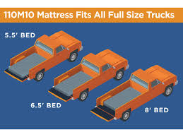 rightline gear full size truck bed air mattress 5 5ft to 8ft beds