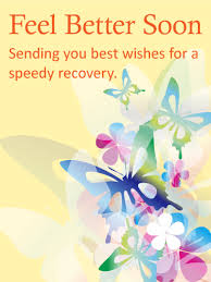 cards for sick friends colorful butterflies get well card birthday greeting cards by davia