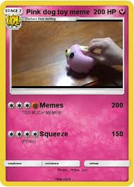 Meme Pink - pokémon pink dog toy meme 1 1 memes my pokemon card