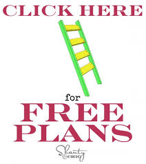 free plans for blanket ladder shanty 2 chic