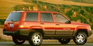 jeep grand limited 1998 1998 jeep grand values nadaguides