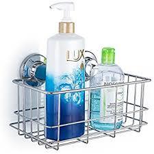 Bathroom Basket Storage by Amazon Com Sanno Bathroom Shower Caddy Bath Shelf Storage