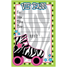 skate party invitation template top 15 free printable roller
