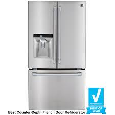 Cabinet Depth Refrigerator Reviews Tremendous Reviews With French Doors French Door Refrigerator What
