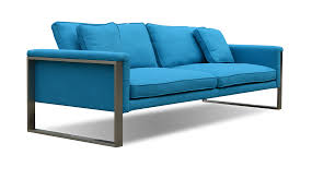 Couch Depth Furniture Lycksele Two Seat Turquoise Sofa For Amusing Home
