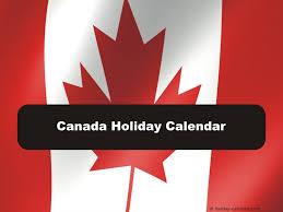 canada 2017 2018 calendar
