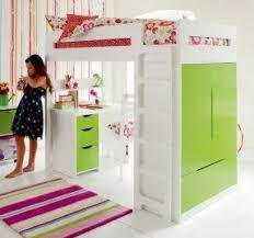 Bunk Beds With Wardrobe Loft Bed With Desk Underneath Foter